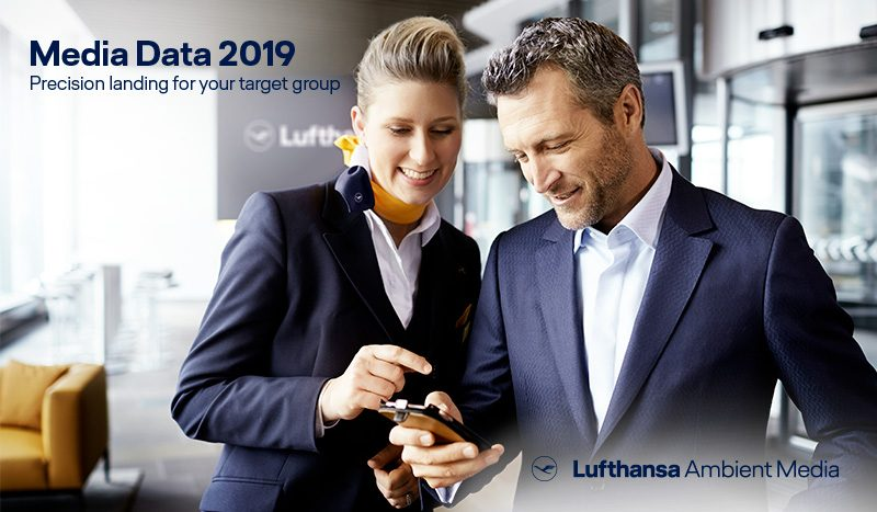 Lufthansa Ambient Media – Media Data 2019